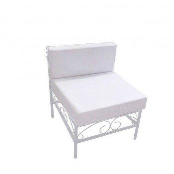 "Sofa Model ""Emanuel white"" middle"
